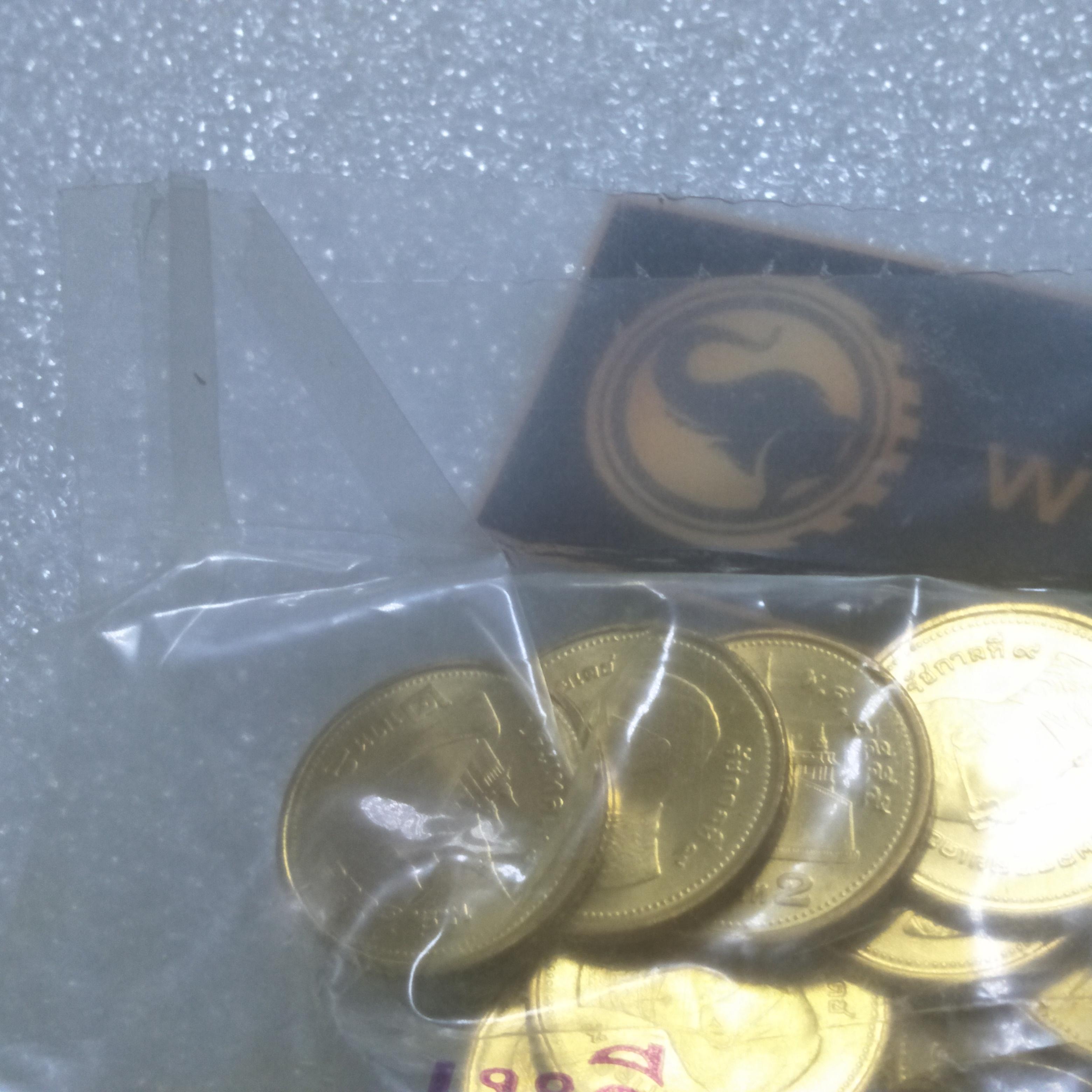 เหรียญ 2 บาท 2555 ยกถุง UNC