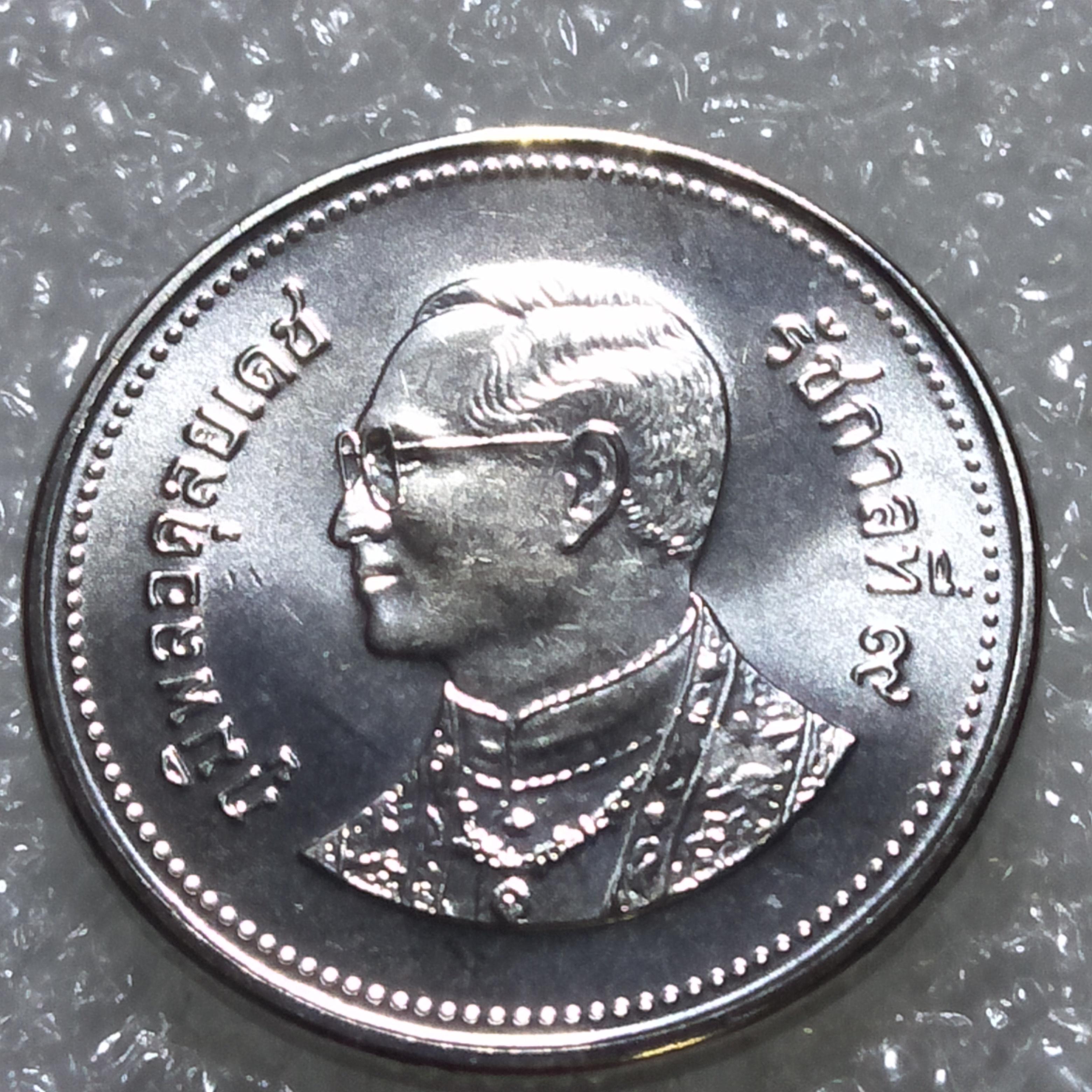 เหรียญ 2 บาท 2549 ไม่ผ่านใช้ UNC