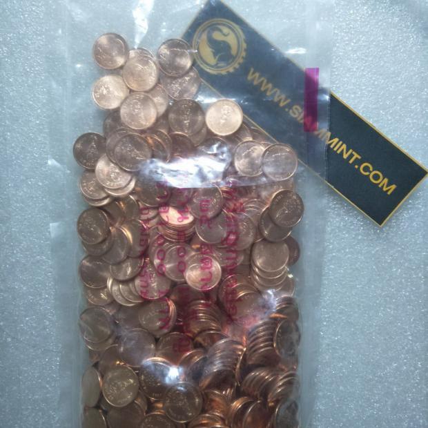 เหรียญ 25 สตางค์ 2561 ยกถุง UNC